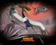 Kung fu panda, 2008, crane (david cross)