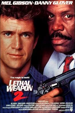 Lethal Weapon 2 Poster
