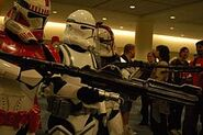 Clone troopers in the spotlight