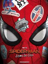 Spider-Man Lejos de casa - teaser poster