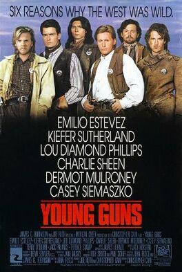Young Guns (1988 film) poster