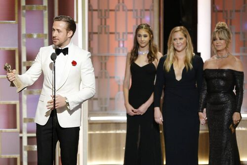 Golden globes la la land