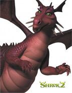 Shrek 2 dragona