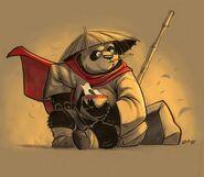 Po Kung Fu Panda by E Mann