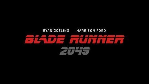 BLADE RUNNER 2049. Primeras imágenes. En cines 6 de octubre 2017.