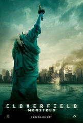 Cloverfield Monstruo - Poster MX