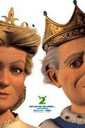 Shrek 2 padres de fiona