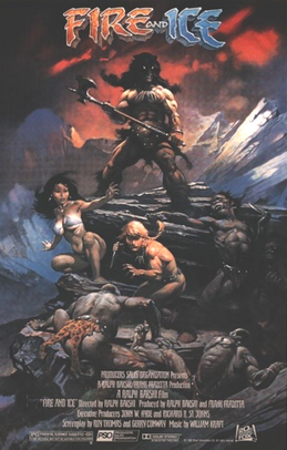 Fire and Ice 1983 poster