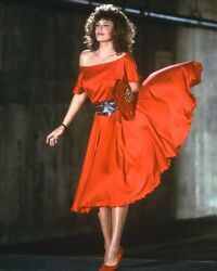Kelly LeBrock Woman in Red