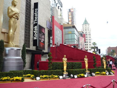 Red carpet at 81th Academy Awards in Kodak Theatre