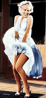 The Seven Year Itch (Marilyn Monroe's skirt blows up)