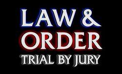 Law & Order TBJ screen