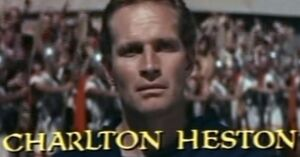 Charlton Heston in Ben Hur trailer