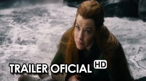 El Hobbit La Batalla de los Cinco Ejércitos Tráiler oficial en español (2014) HD-0