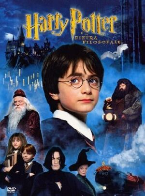Harry Potter e la pietra filosofale locandina
