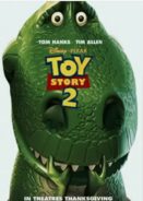 Toy Story 2 Poster 2 - Rex