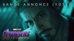 Avengers Endgame - Bande-annonce officielle (VOST)