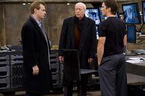 The Dark Knight - Bale, Caine, Nolan