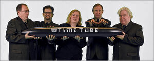 Cast-and-tube