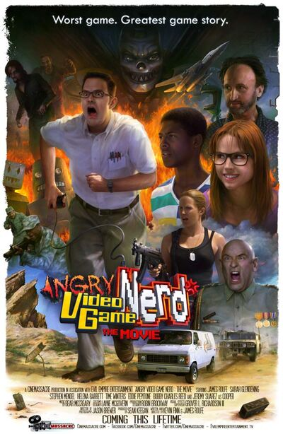 Film Poster for AVGN The Movie