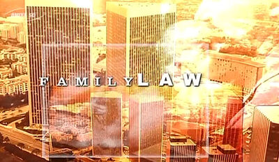 Family Law title card