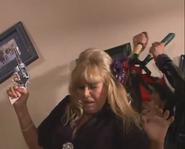 Britt Ekland being killed in 'Lexx-Prime Ridge'