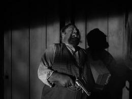 Sebatian Cabot fatally shot in Gunsmoke-The Que