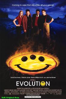 Evolution (2001) Poster