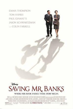 Saving Mr. Banks Theatrical Poster