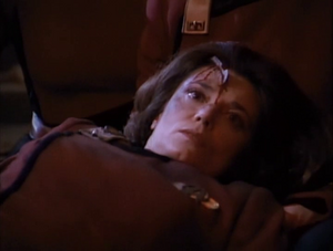 Tricia O'Neil dead in 'Yesterday's Enterprise'