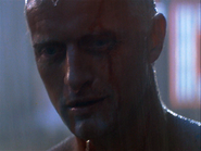 Rutger Hauer dying in Blade Runner