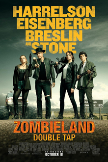Zombieland Double Tap teaser poster