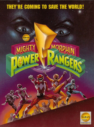 Affiche-power-rangers-mighty-morphin-1993-1