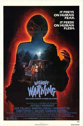 Without warning 1980 movie poster