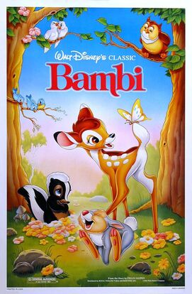 Bambi 1989 Re-Release Poster-1-