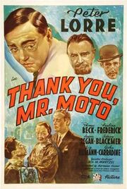 Poster of Thank You, Mr. Moto