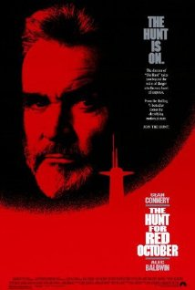 The Hunt for Red October 1990 Poster