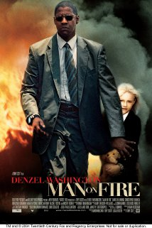 'Man on Fire' 2004 poster