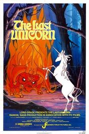 The Last Unicorn (1982) theatrical poster