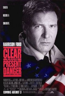 Clear and Present Danger 1994 poster.