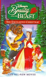 Beauty and the Beast The Enchanted Christmas original vhs