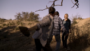 Ivo Nandi about to be Bludgeoned in 'Justified-Long in the Tooth'