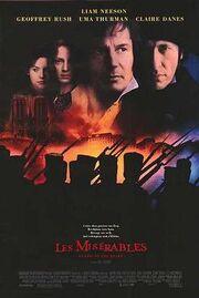 Les Misérables (1998 film) poster
