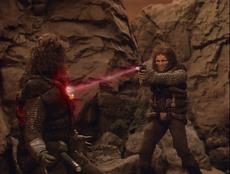 John Robert Garrett killed in Star Trek-The Next Generation-Loud as a Whisper