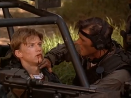 Cinemorgue- Gideon Emery death in Operation Delta Force