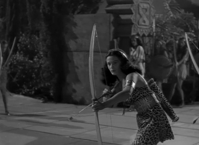 Unknown Actress 45-C in 'Tarzan and the Amazons'