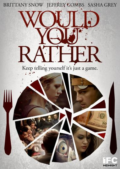 Would You Ever Visit A Card Teller If: Would You Rather (2012)
