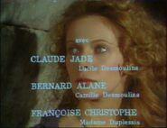 Passion de Camille et Lucile Desmoulins Claude Jade Credits