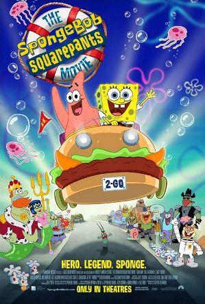 The SpongeBob SquarePants Movie poster-1-