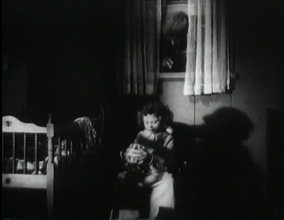 Unknown Actress 42-A just before her death in 'The Mad Monster'